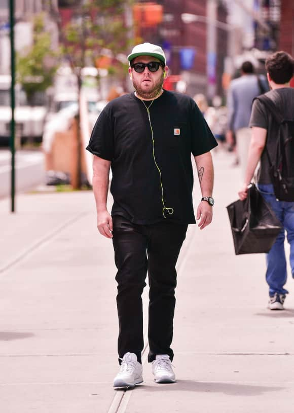 Jonah Hill is looking pretty slim nowadays...