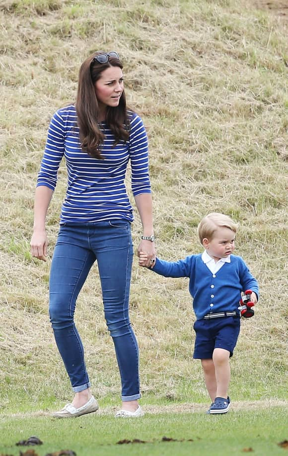 Duchess Catherine and Prince George
