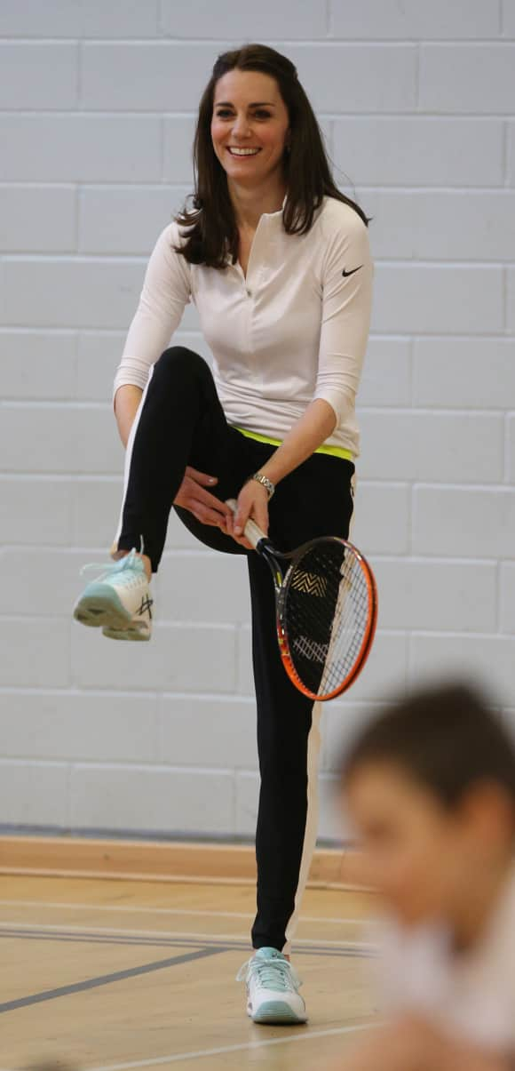 Duchess Catherine doing sports