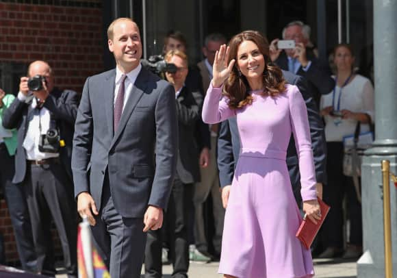 What a couple! The Prince and his Duchess while visiting the city of Hamburg, Germany, in the summer of 2017.