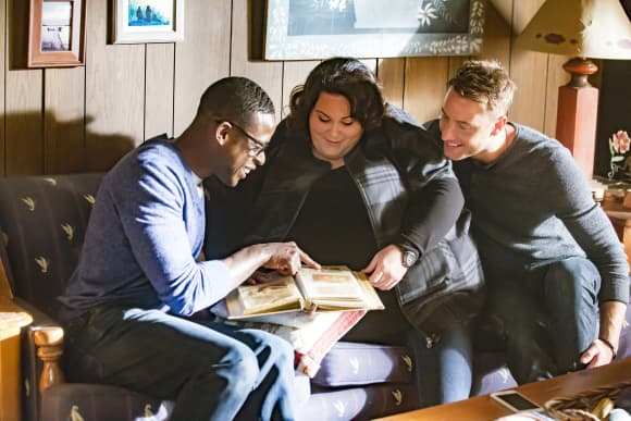 Kate, Kevin and Randall in 'This Is Us'