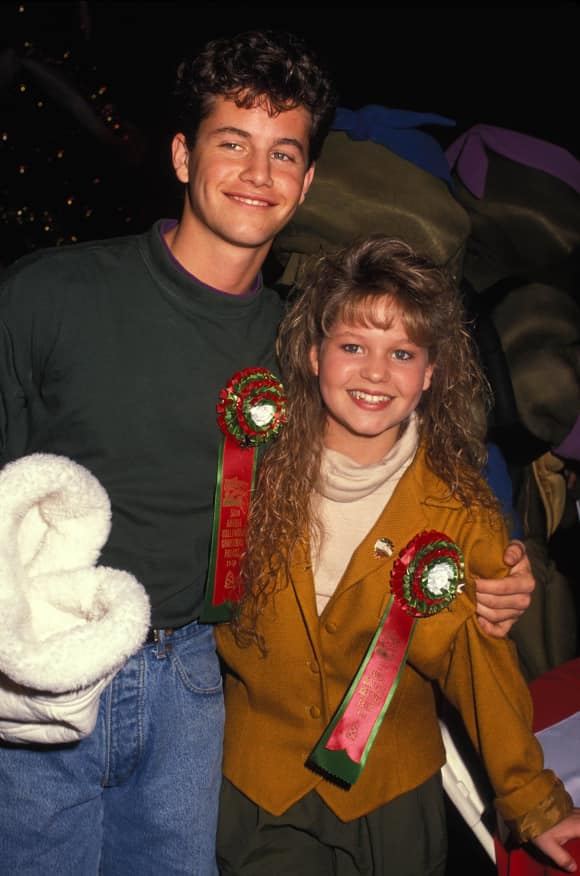 Kirk Cameron and Candace Cameron are siblings