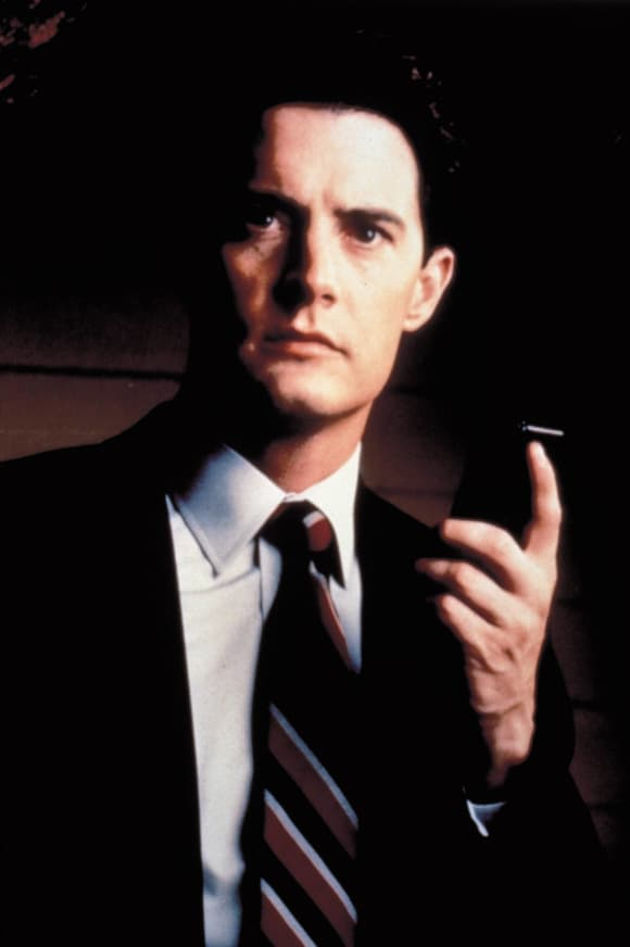 "Kyle MacLachlan played ""Dale Cooper"" in ""Twin Peaks"""