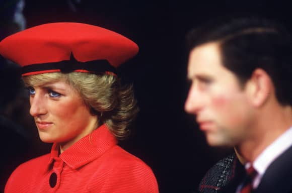 Princess Diana and Prince Charles were divorced