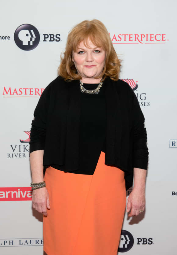 """Lesley Nicol played """"Beryl Patmore"""" in """"Downton Abbey"""""""