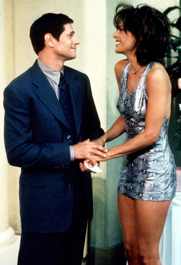 Lisa Rinna and Thomas Calabro in 'Melrose Place'