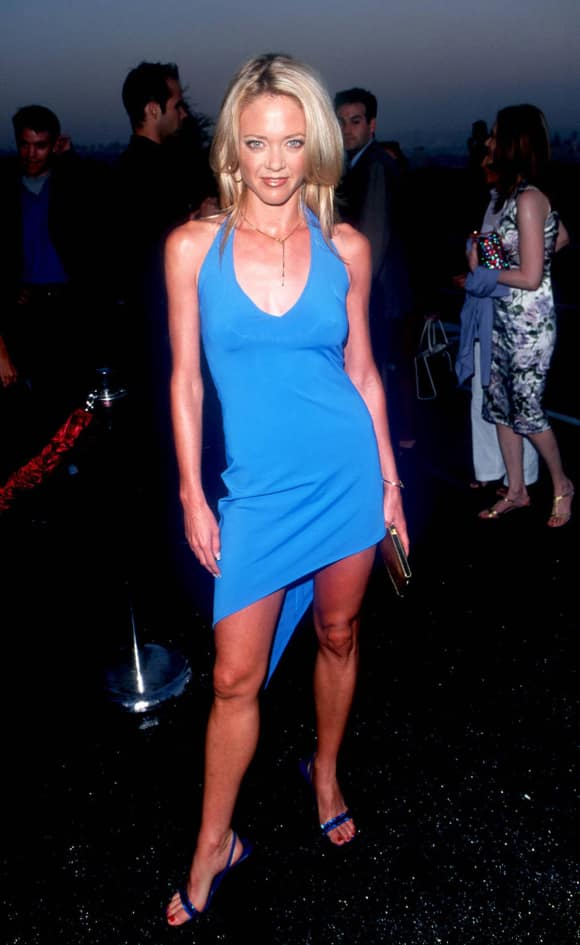 Lisa Robin Kelly at a party in LA