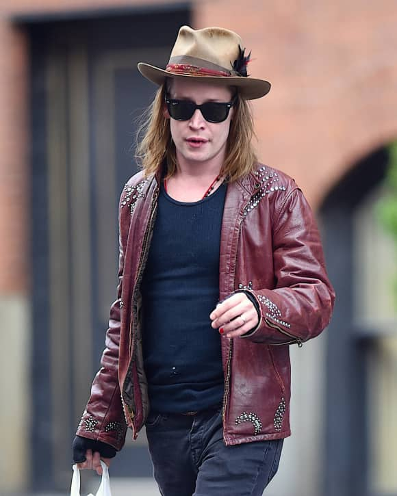 Macaulay Culkin in Manhattan