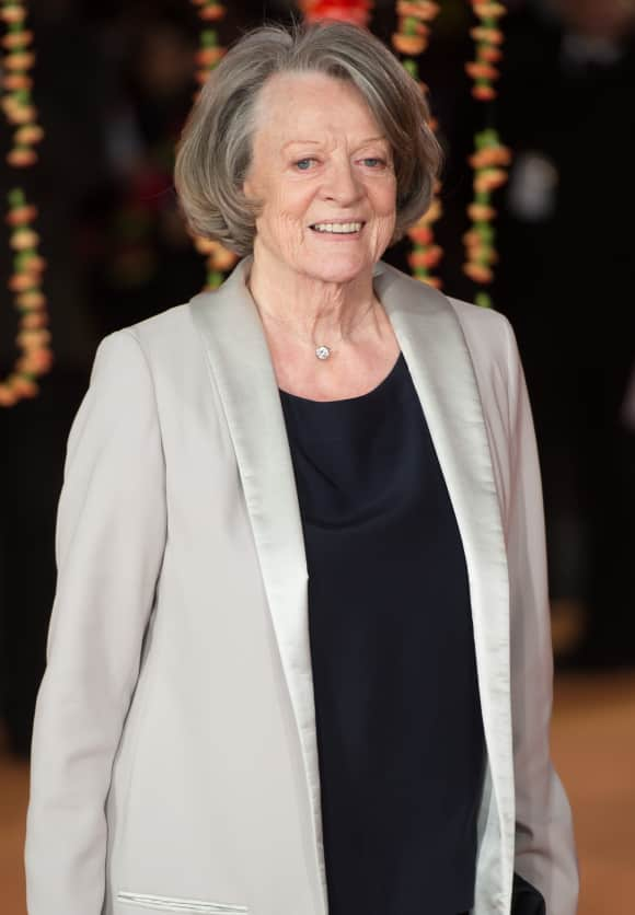 """Maggie Smith played """"Violet Crawley"""" in """"Downton Abbey"""""""