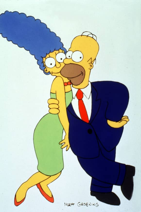 Marge Homer Simpson Simpsons