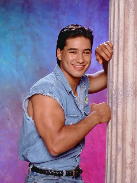 Mario Lopez from Saved By The Bell