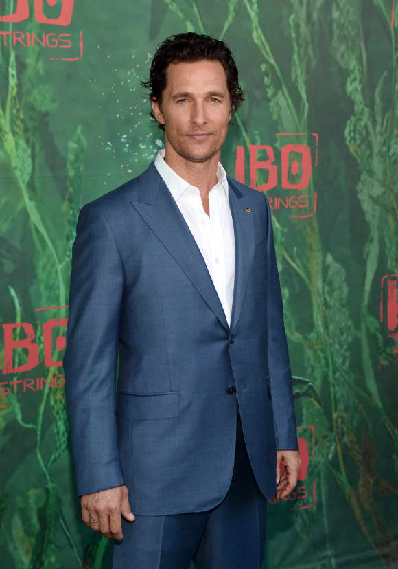 Matthew McConaughey lost a bunch of weight for his role in Dallas Buyers Club (2013)