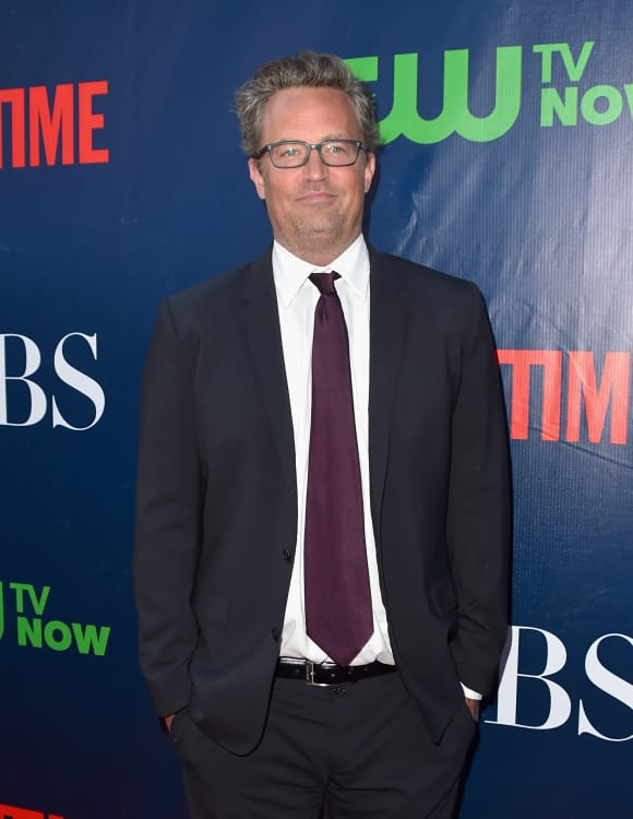 """Friends"" star Matthew Perry"