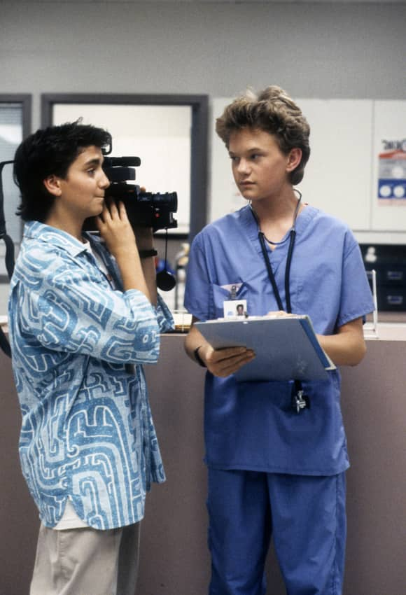 """Max Casella and Neil Patrick Harris in """"Doogie Howser"""""""