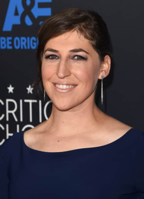 Mayim Bialik dazzled everybody on the red carpet with her amazing dress