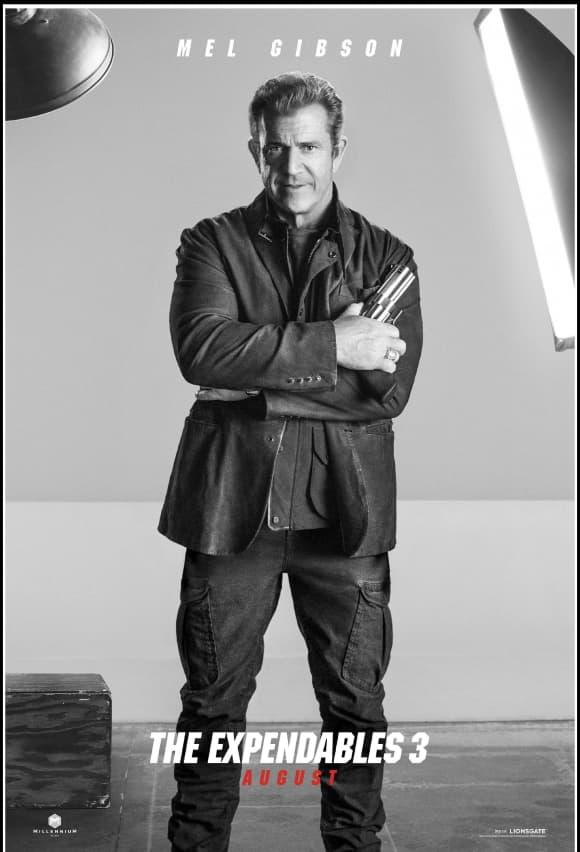 Mel Gibson in 'The Expendables 3'