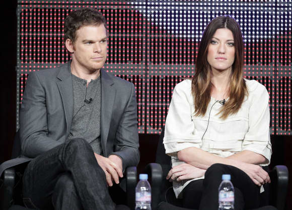 "Michael C. Hall and Jennifer Carpenter from ""Dexter"""