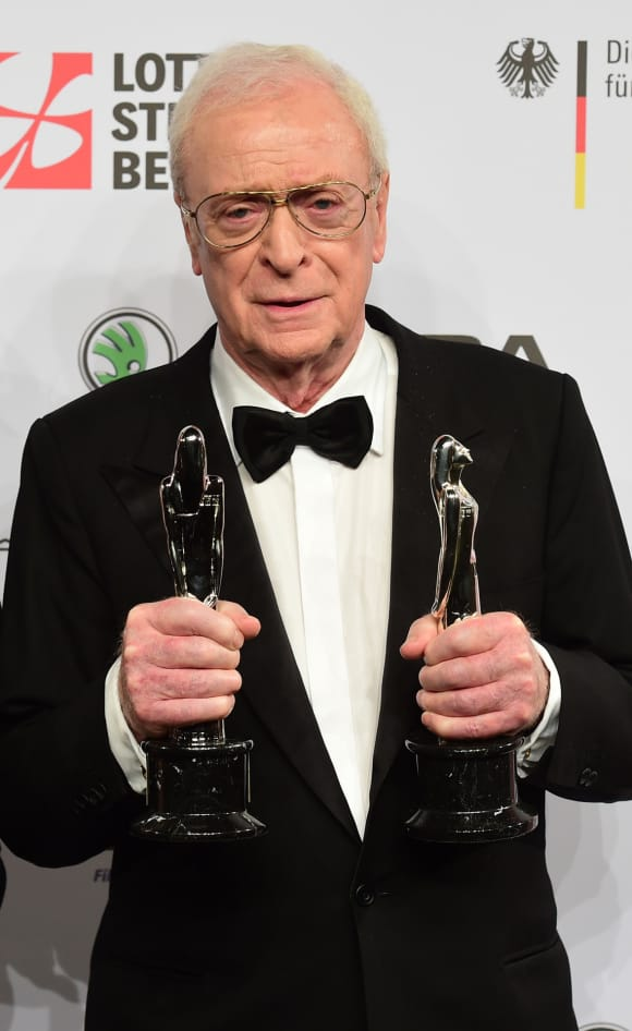 Michael Caine was knighted in 2000