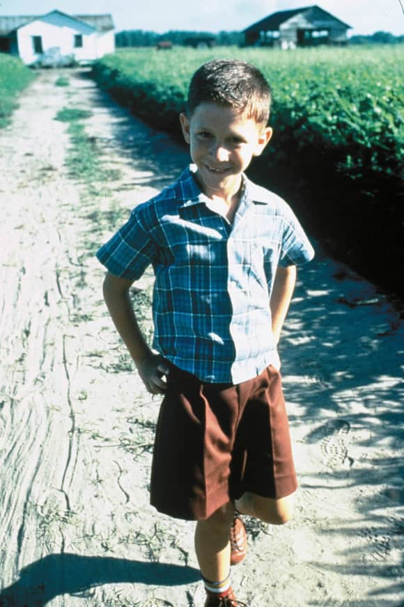 """Michael Conner Humphreys as young """"Forrest Gump"""""""