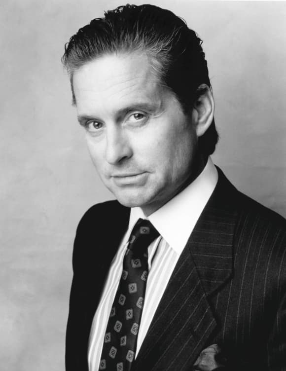 Michael Douglas in 'Wall Street'