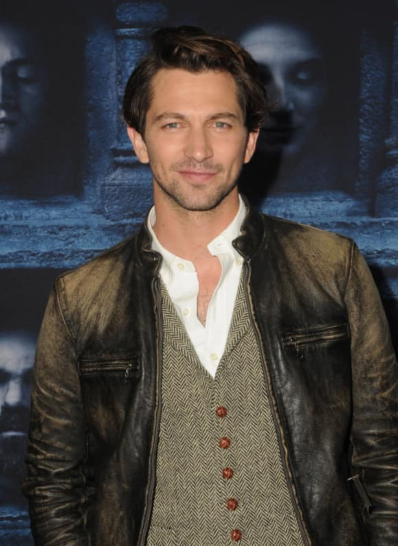 "Michiel Huisman at the premiere of the six season of ""Game Of Thrones"""