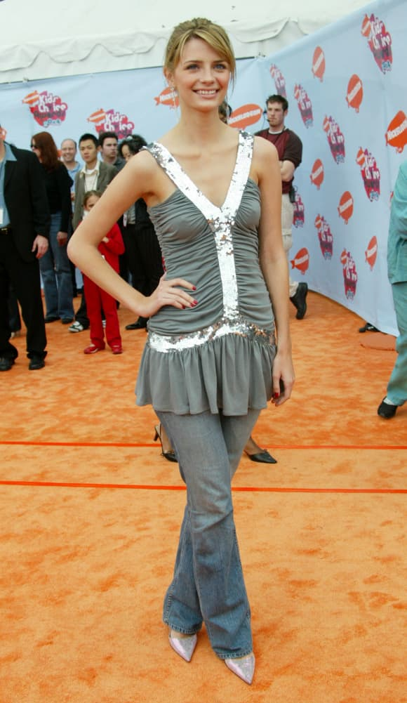 Mischa Barton attends Nickelodeon's 17th Annual Kids' Choice Awards, 2004