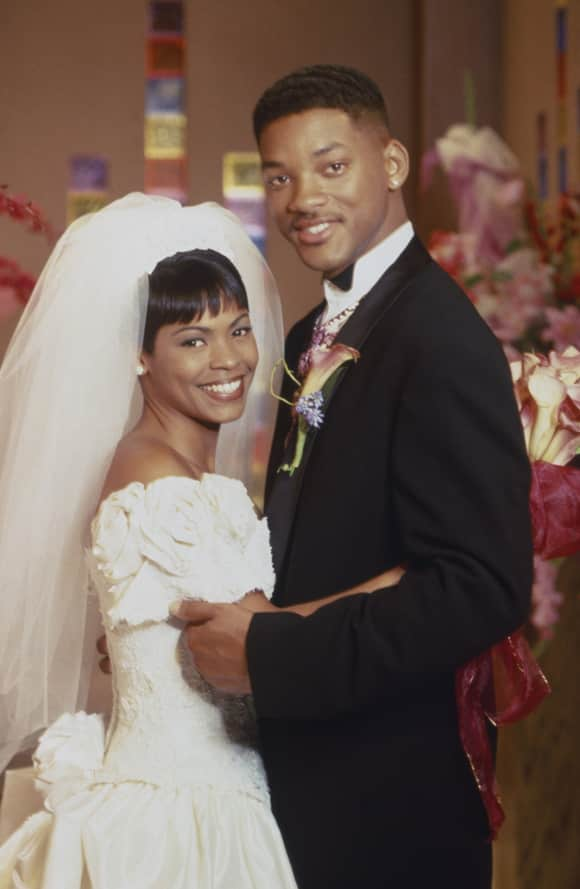 "Nia Long and Will Smith in ""The Fresh Prince of Bel-Air"""