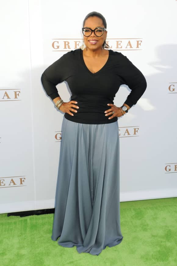 Oprah Winfrey after losing a few pounds