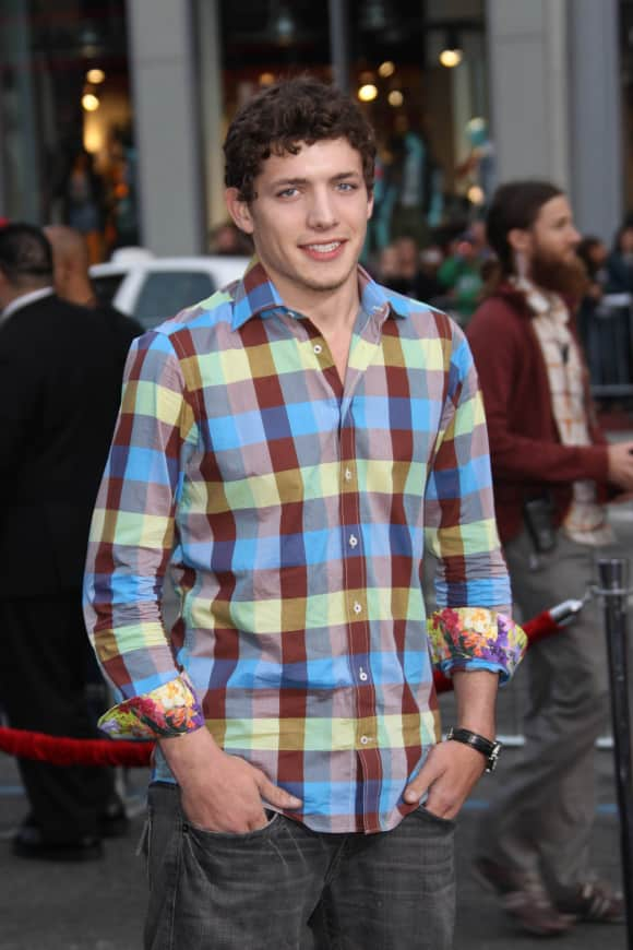 "Parker Bagley at the ""A Nightmare on Elm Street"" premiere"