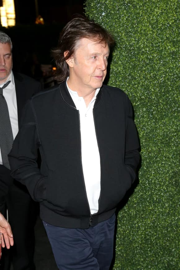 Sir Paul McCartney was knighted in 1997