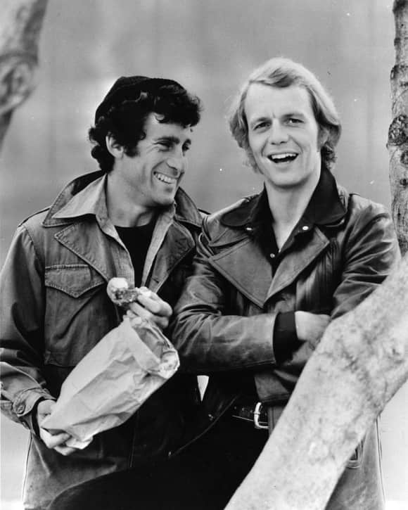 "Paul Michael Glaser and David Soul as ""Starsky & Hutch"""