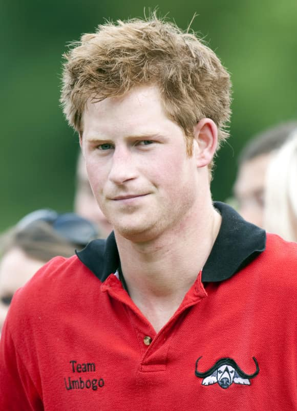 Prince Harry in 2009