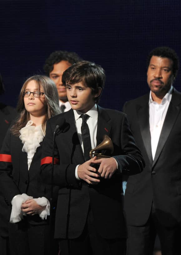 Prince Michael at the 2010 Grammys
