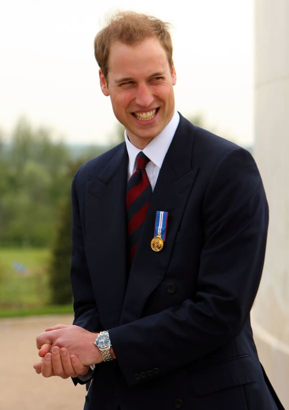 Prince William in 2009