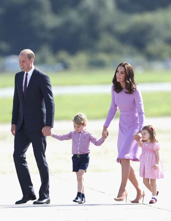 Prince William, Prince George, Duchess Catherine, Princess Charlotte