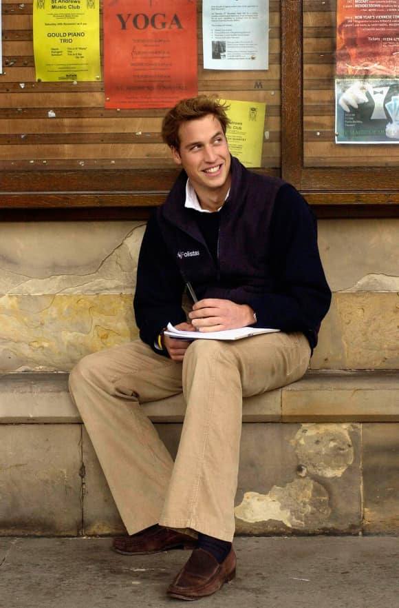 Prince William at St. Andrews