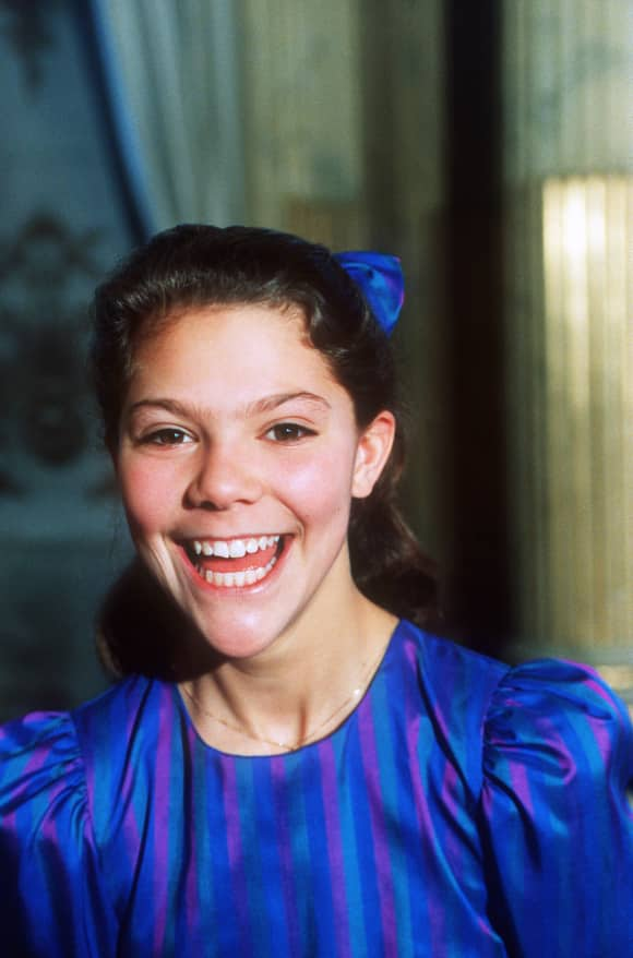 Princess Victoria of Sweden at 13
