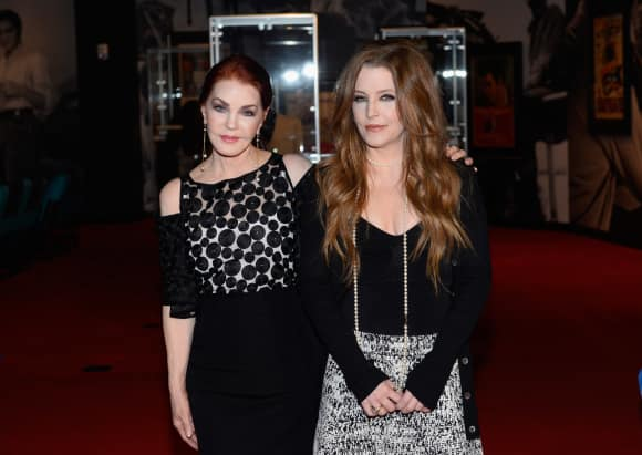 Mother and daughter: Priscilla and Lisa Marie Presley in April 2015