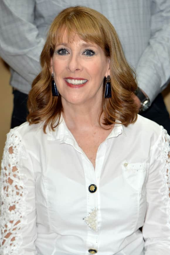 """Phyllis Logan played """"Mrs Hughes"""" in """"Downton Abbey"""""""
