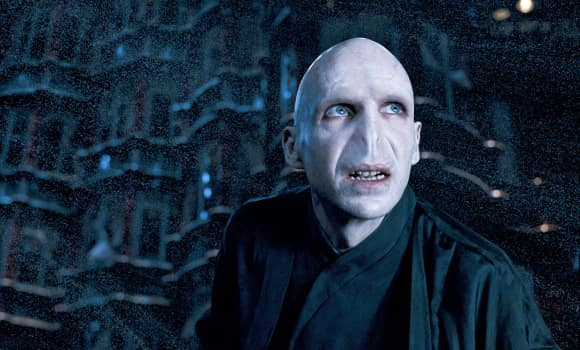 "Ralph Fiennes in the ""Harry Potter"" franchise"