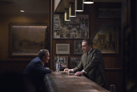 Robert De Niro and Joe Pesci in 'The Irishman'