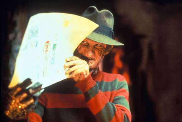 """Freddy Krueger"" in ""A Nightmare on Elm Street"""