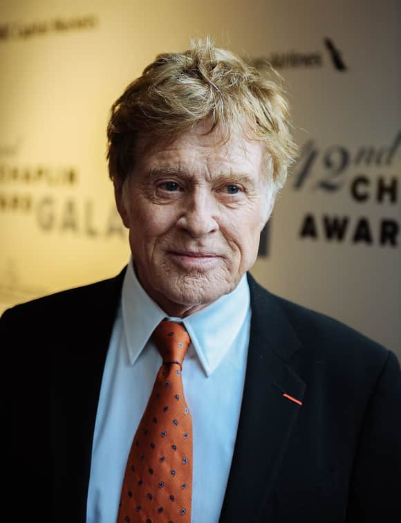 """Out of Africa"" star Robert Redford"