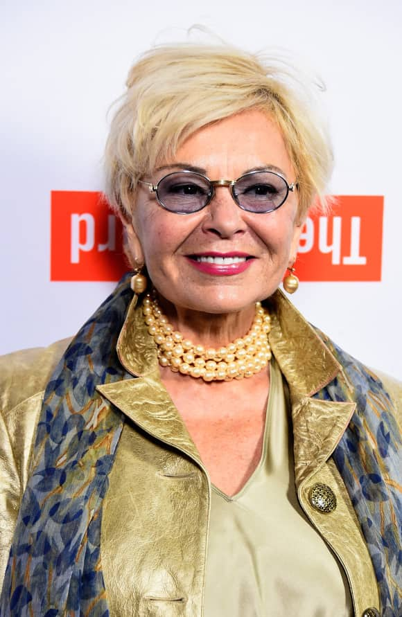 Roseanne Barr is blonde now - and a lot lighter