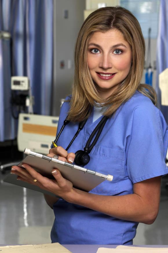 Sarah Chalke in 'Scrubs'