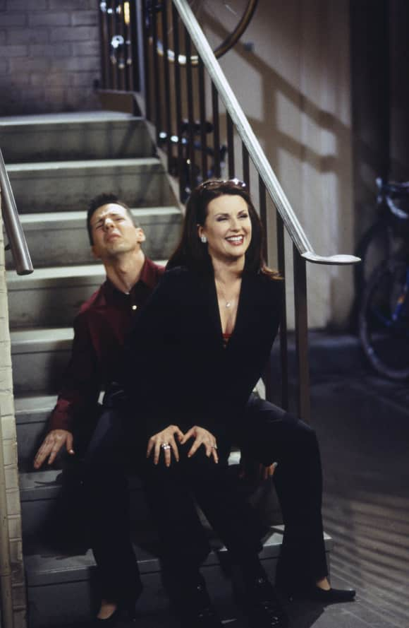 "Megan Mullally and Sean Hayes in ""Will & Grace"""