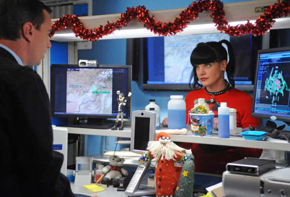 Sean Murray and Pauley Perrette in 'NCIS'
