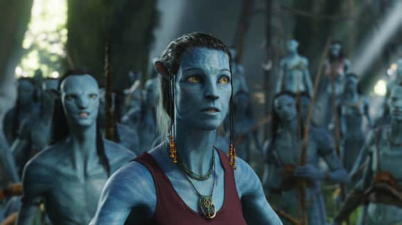 "Sigourney Weaver in ""Avatar"""