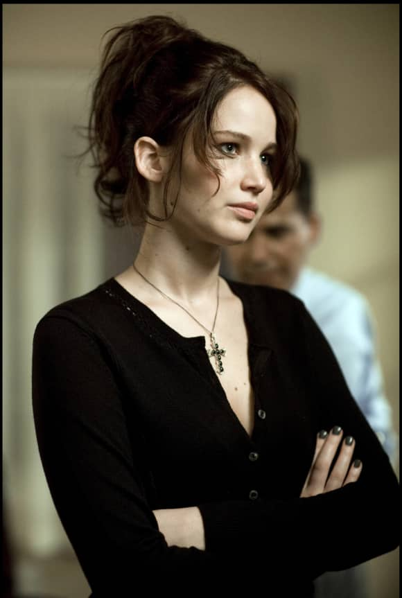 "Jennifer Lawrence in ""Silver Linings Playbook"""