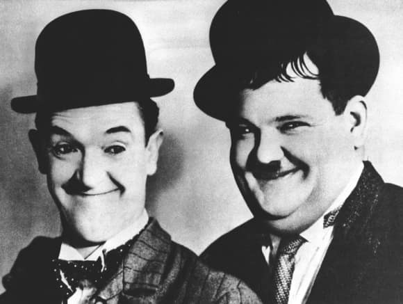 "Stan Laurel and Oliver Hardy a.k.a. ""Laurel & Hardy"""